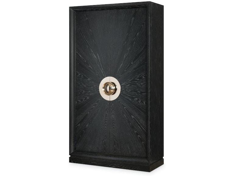 Century Furniture Living Room Tall Door Cabinet C19 727