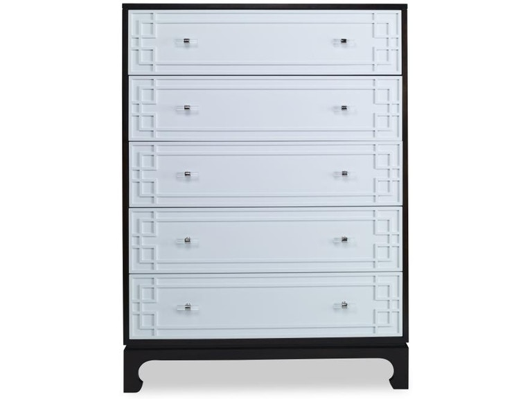 . Century Furniture Bedroom Five Drawer Low Chest Cr9 211   Issis