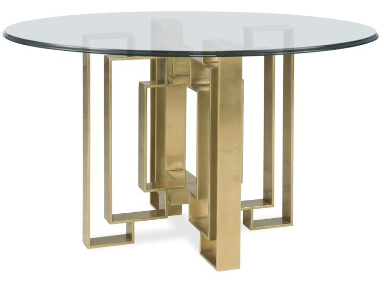 Admirable Century Furniture Dining Room Metal Dining Table Base Cra Home Interior And Landscaping Spoatsignezvosmurscom
