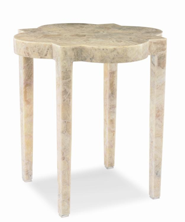 Century Furniture Medallion Stone Side Table CNTSF5308 From Walter E.  Smithe Furniture + Design