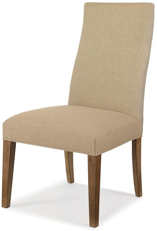 Chandler Curved Back Exposed Wood