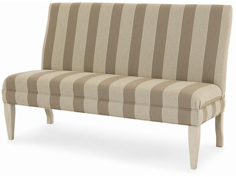 Century Furniture Dining Room 85 To 96 Armless Dining Banquette 3380 5 Seldens Designer Home