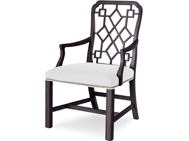 Century Furniture Dining Room Stocked Isabella Arm Chair