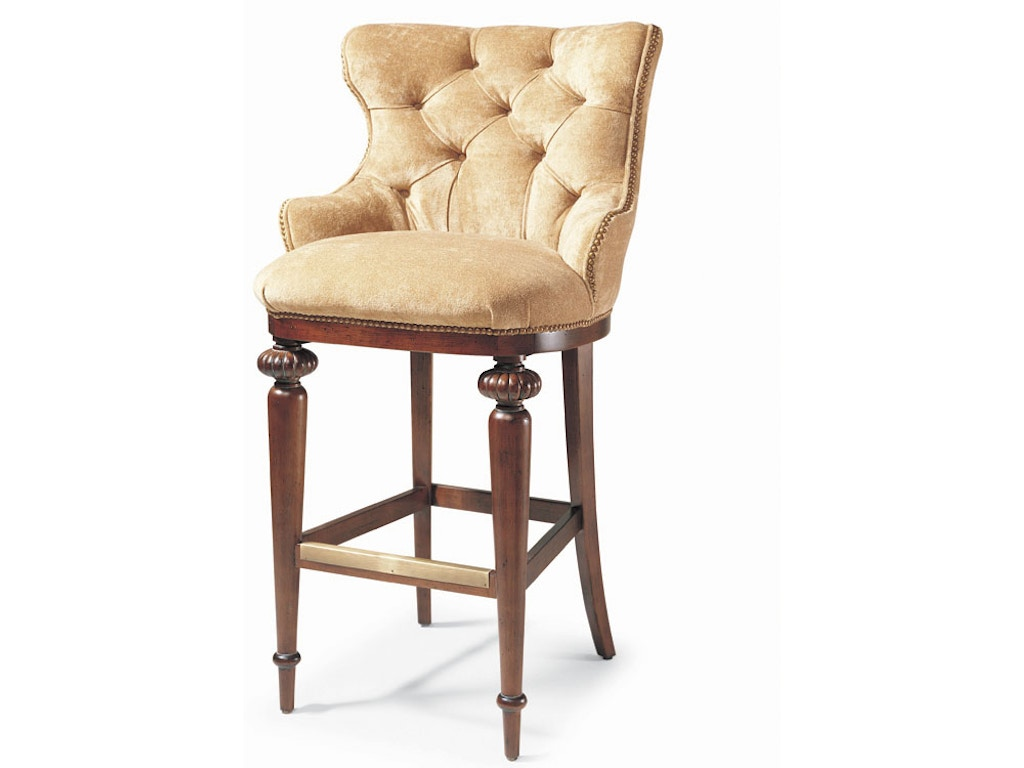 Wondrous Century Furniture Bar And Game Room Tufted Bar Stool Cnt3768B Walter E Smithe Furniture Design Dailytribune Chair Design For Home Dailytribuneorg