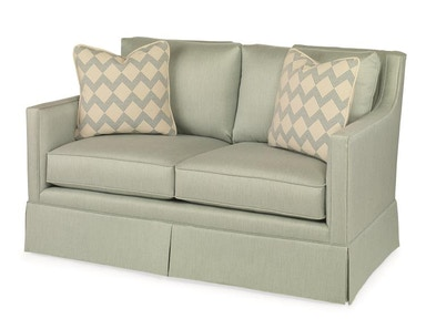 Century Furniture Del Mar Skirted Love Seat ESN216-4SK