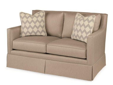 Century Furniture Del Rio Skirted Love Seat ESN255-4SK