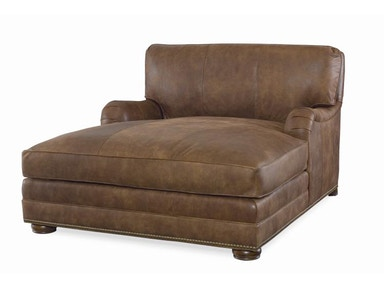 Century Furniture Leatherstone Wide Chaise LR-7600-5X