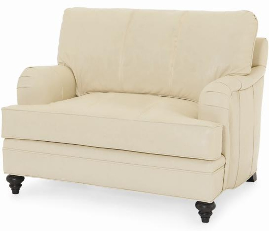 Century Furniture Living Room Leatherstone Chair N Half Lr