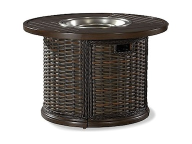 "Lane Venture South Hampton 36"" Round Gas Fire Pit 19790-45"