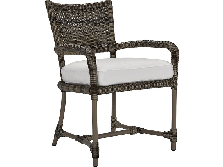 Outdoor Patio Oasis Dining Arm Chair