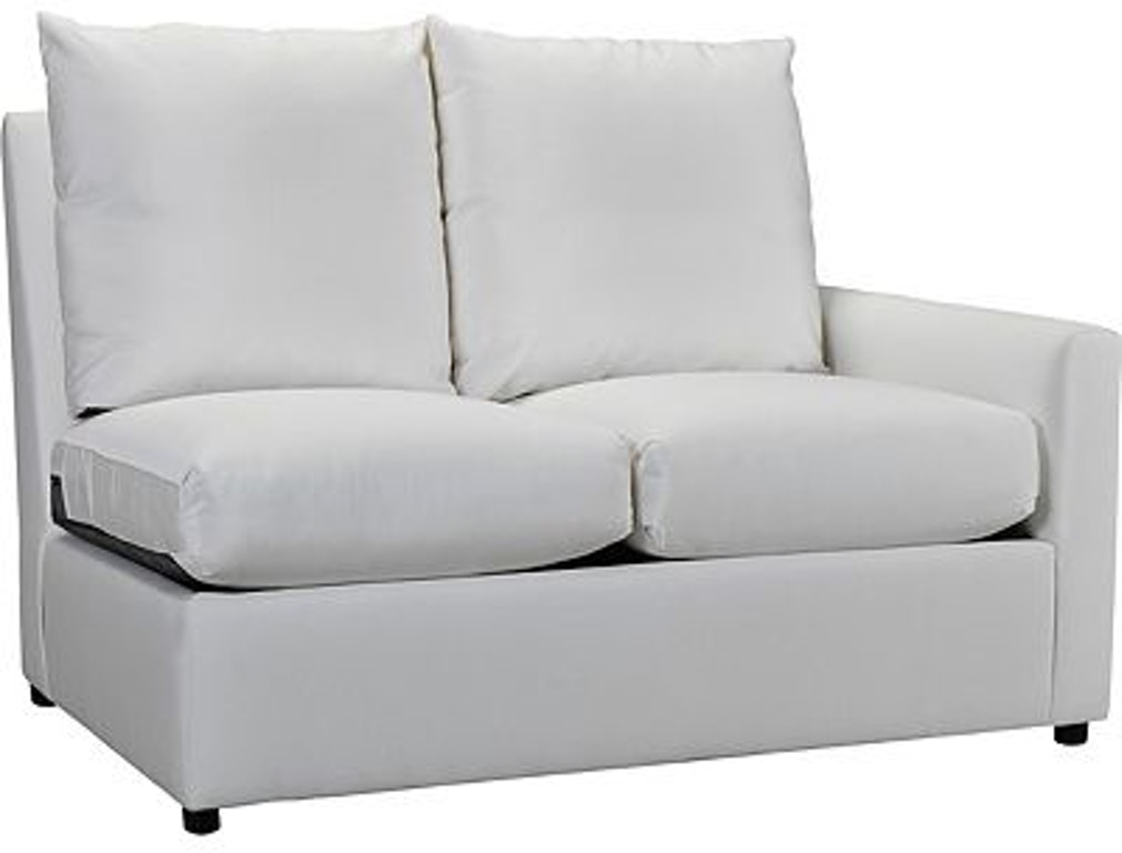 The Lane Venture Outdoorpatio Outdoor Upholstery Charlotte Right Facing One Arm Loveseat Is Available In Frederick Md Area From Fitzgerald Home