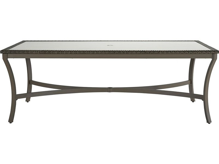 Lane Venture Outdoor Patio Dining Table 9536 84 Georgian Furnishing And Bergerhome New Orleans