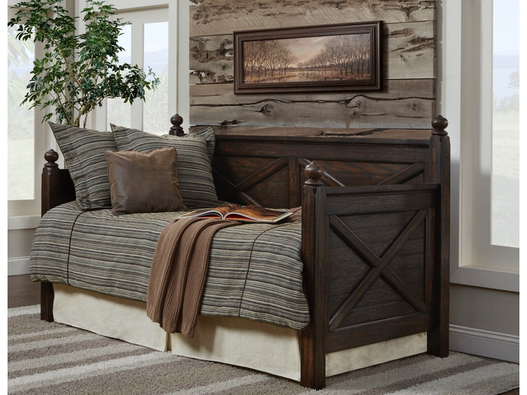 Elements International Bedroom Sutherland Daybed 100tdb At Barron S Home Furnishings