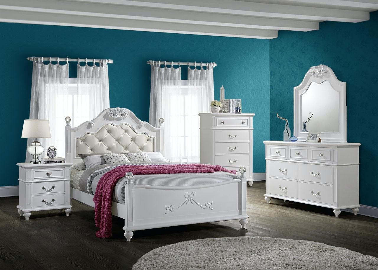 Elements International Alana Bedroom