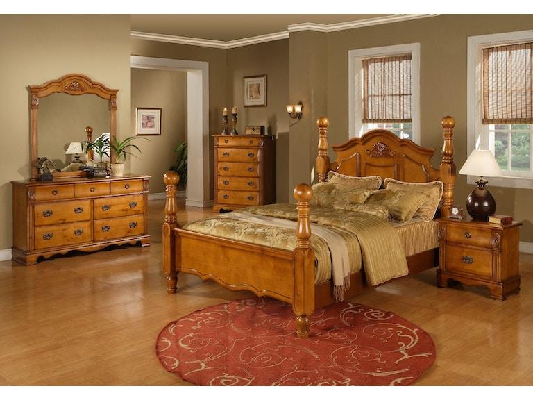 Elements International Bryant Bedroom Elements International