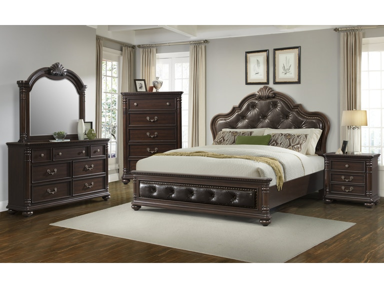 Elements International Classic Bedroom - Elements International ...