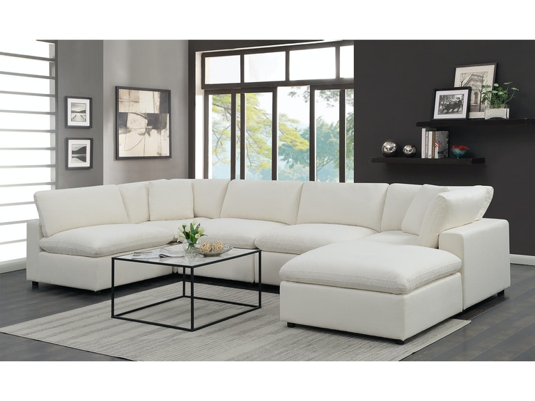 Living Room Cloud 9 Sectional