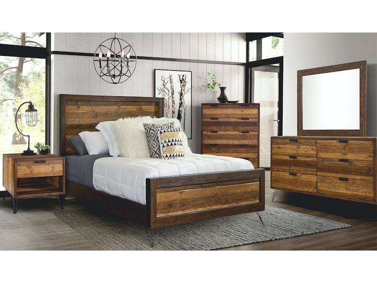 Elements International Bedroom Cruz Bedroom New Look Furniture