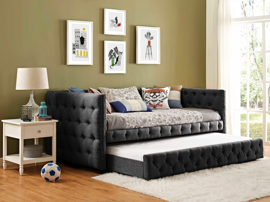 Fabulous Elements International Bedroom Janell Daybed Ujnoxxtbd Ncnpc Chair Design For Home Ncnpcorg