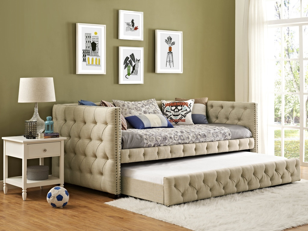 Stupendous Elements International Bedroom Janell Daybed Ujnoxxtbd Ncnpc Chair Design For Home Ncnpcorg