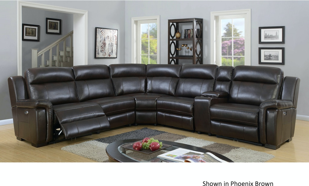 Elements International Living Room Jefferson Sectional