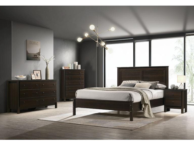 Elements International Bedroom Kennon Woodstock Furniture Mattress Outlet Acworth Ga