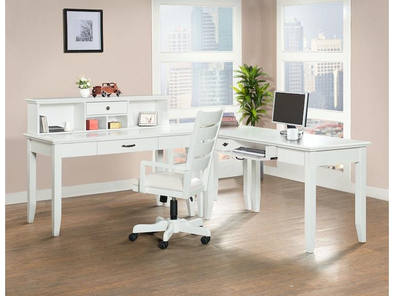 Elements International Bedroom Casey Desk White - Elements ...