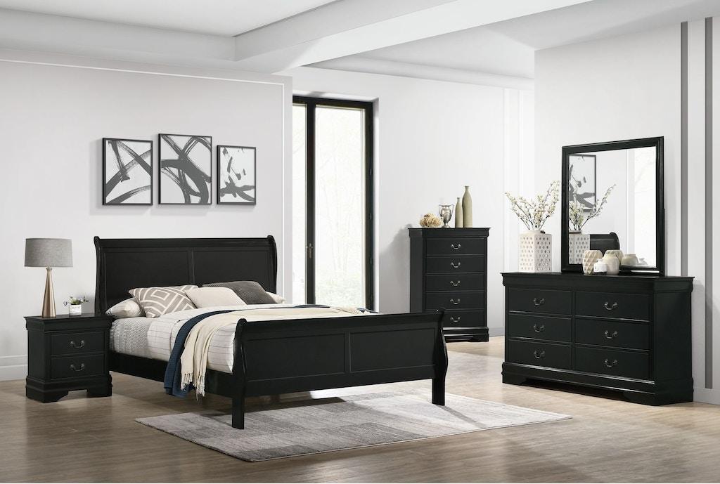 Elements International Louis Philippe Bedroom Set Elements International Mesquite Tx