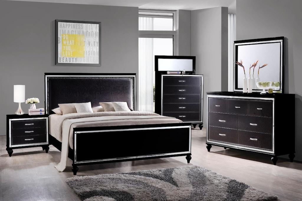 Elements International Miami Black Bedroom - Butterworths of ...