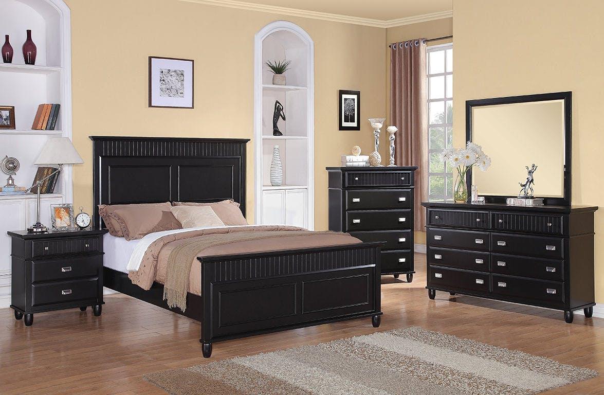 Elements International Spencer Black Bedroom Elements International Mesquite Tx