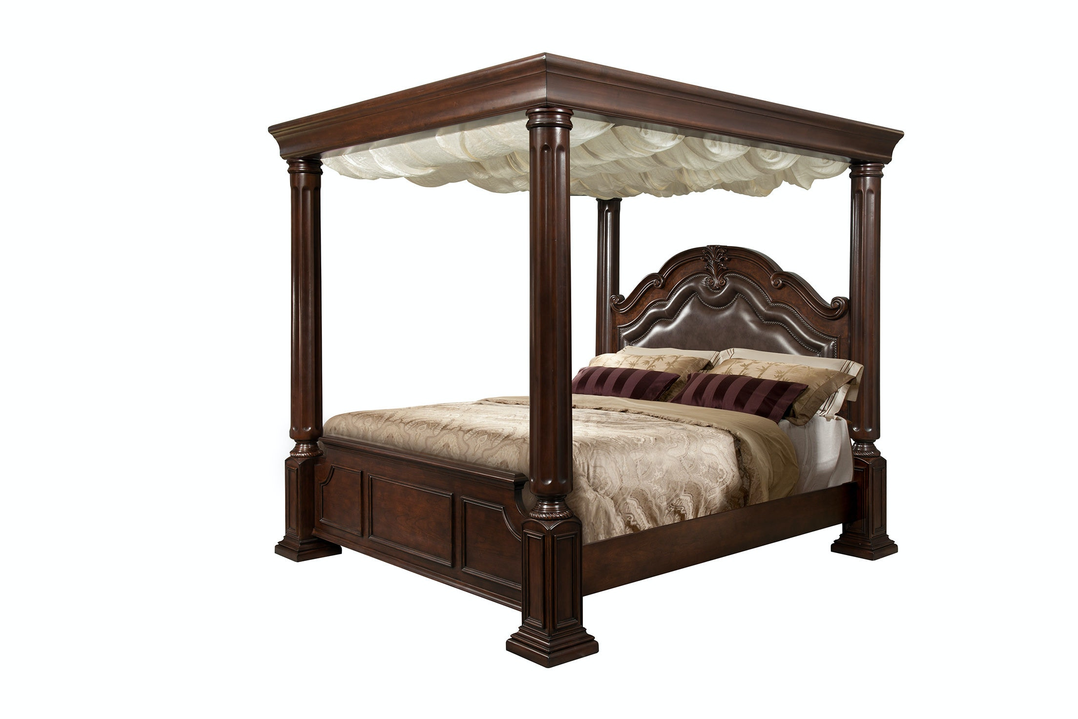 Elements International Tabasco Wooden Canopy Bedroom  sc 1 st  Butterworthu0027s Furniture & Elements International Tabasco Wooden Canopy Bedroom ...