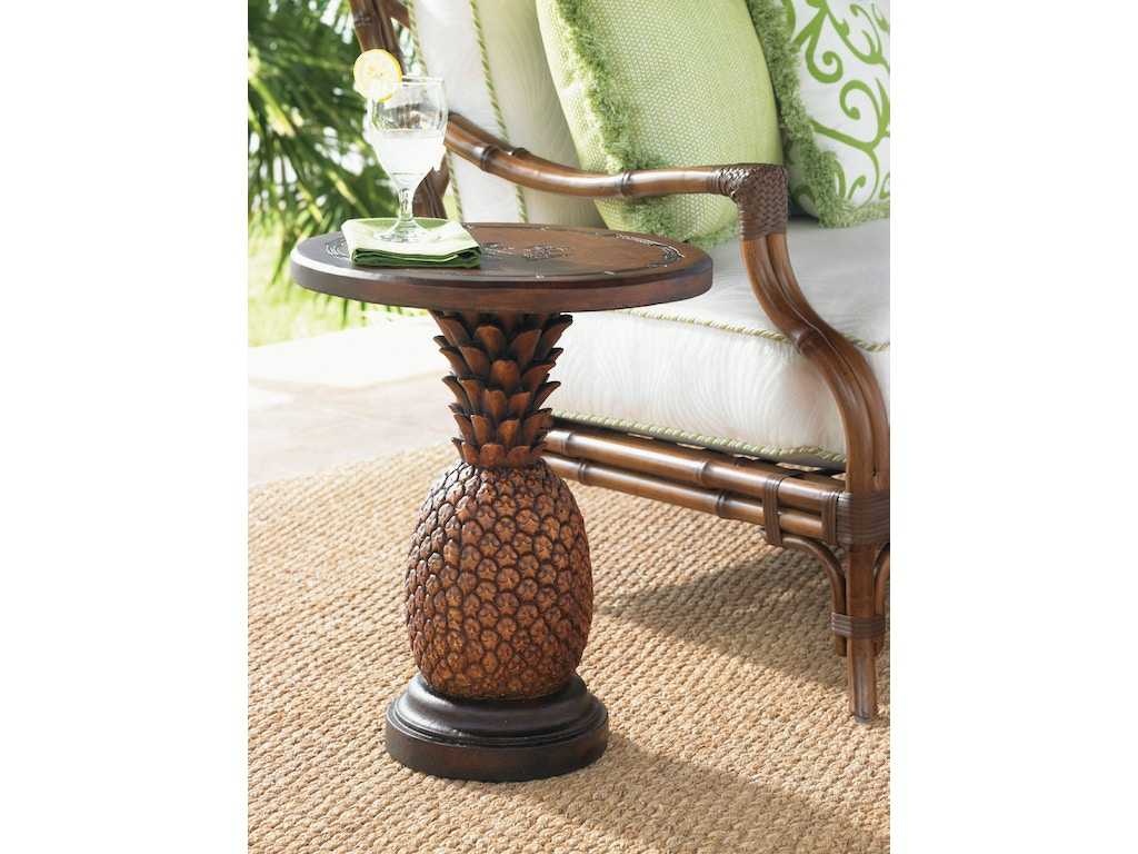 Tommy Bahama Outdoor Living Outdoor Patio Pineapple Table