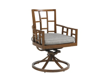 Tommy Bahama Outdoor Living Swivel Rocker Dining Chair 3120-13SR