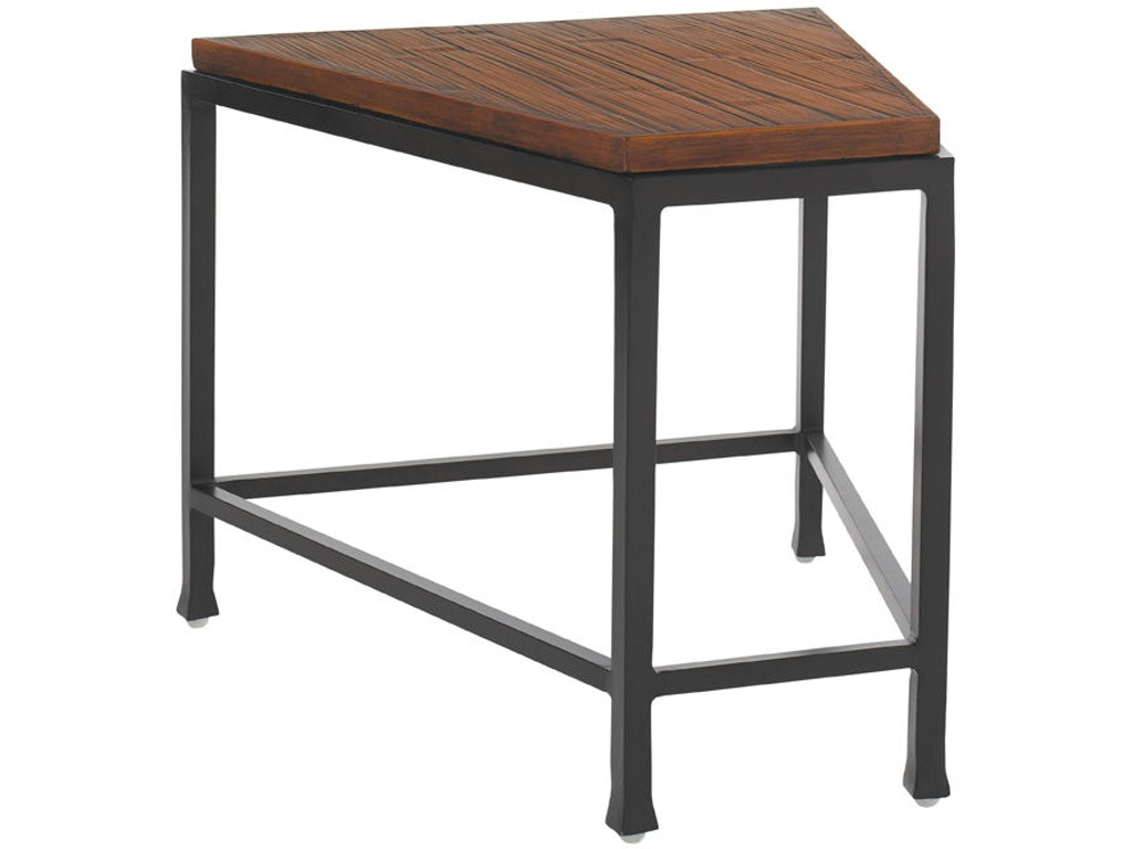 Tommy bahama outdoor living outdoor patio accent table for Orange outdoor side table