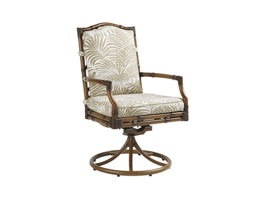 Tommy Bahama Outdoor Living Swivel Rocker Dining Chair 3160-13SR
