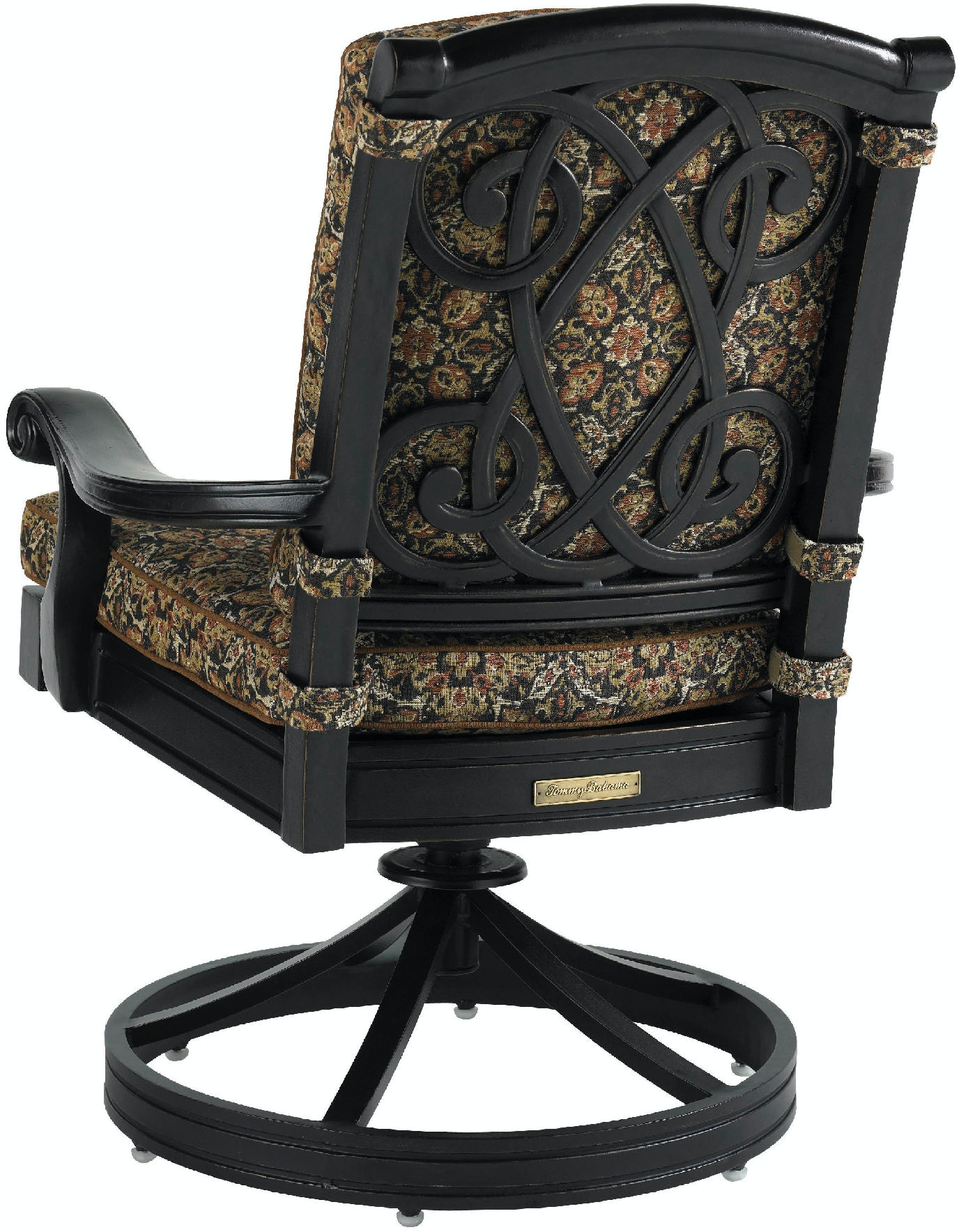 Tommy Bahama Outdoor Living Outdoor Patio Swivel Rocker Dining Chair