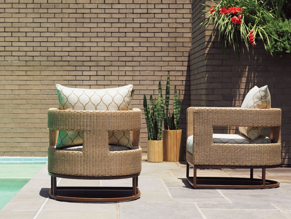 Fabulous Tommy Bahama Outdoor Living Outdoor Patio Barrel Chair 3220 Andrewgaddart Wooden Chair Designs For Living Room Andrewgaddartcom