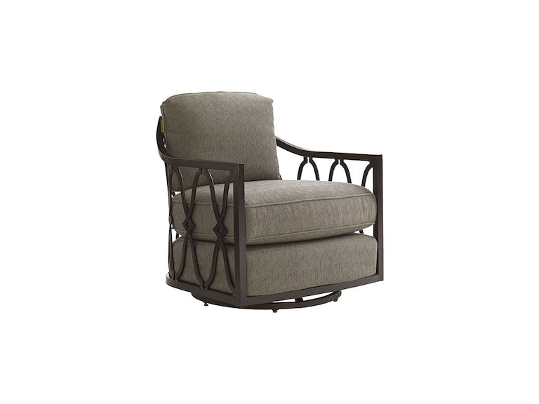 Tommy Bahama Outdoor Living Swivel Tub Chair 3235-10