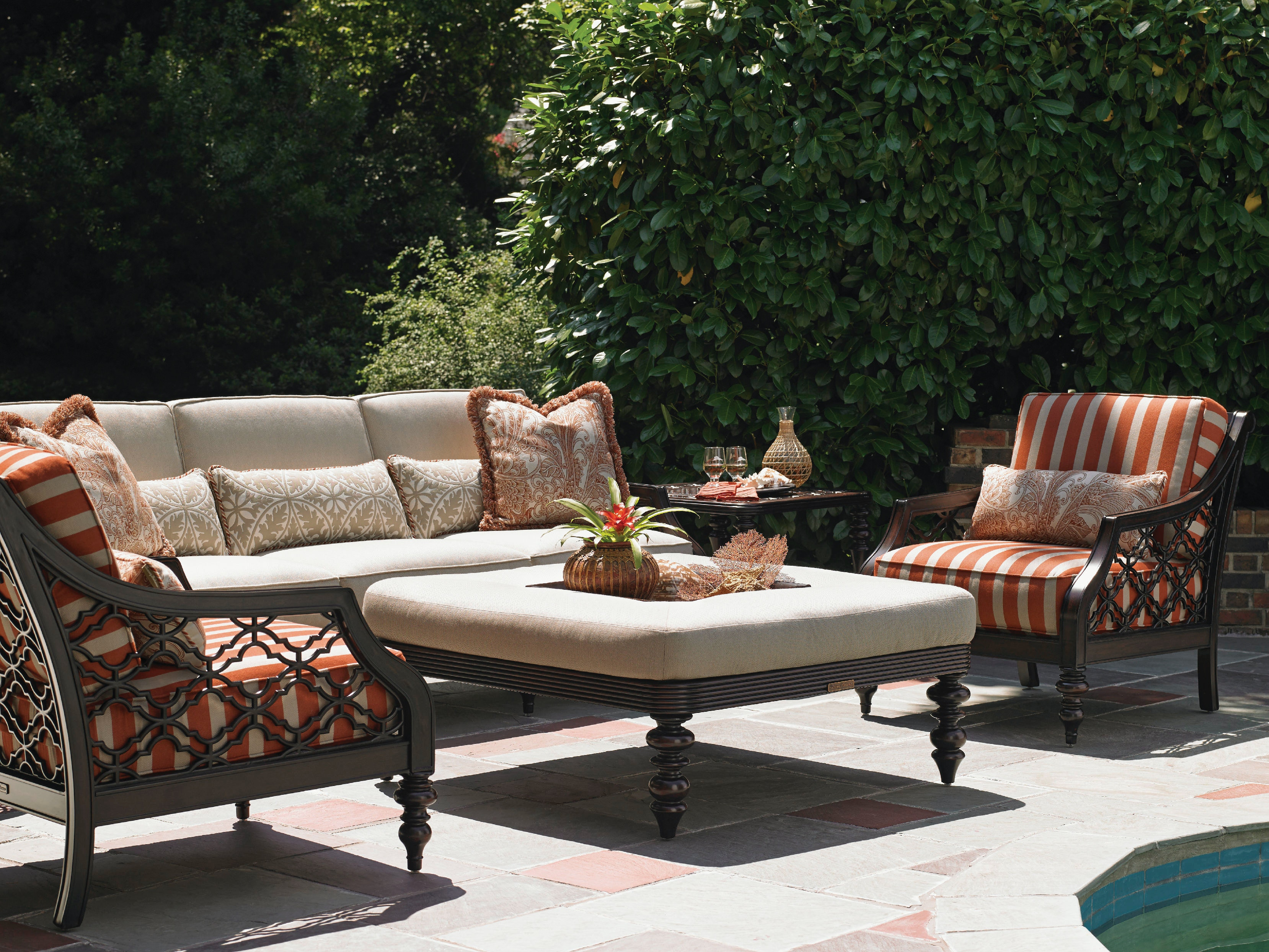 Tommy Bahama Outdoor Living OutdoorPatio Cocktail Ottoman  : 323544rt751271conv from microd.lexington.com size 1024 x 768 jpeg 135kB
