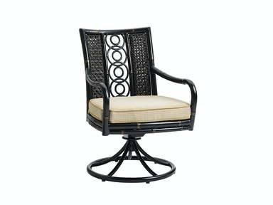 Tommy Bahama Outdoor Living Swivel Rocker Dining Chair 3237-13SR