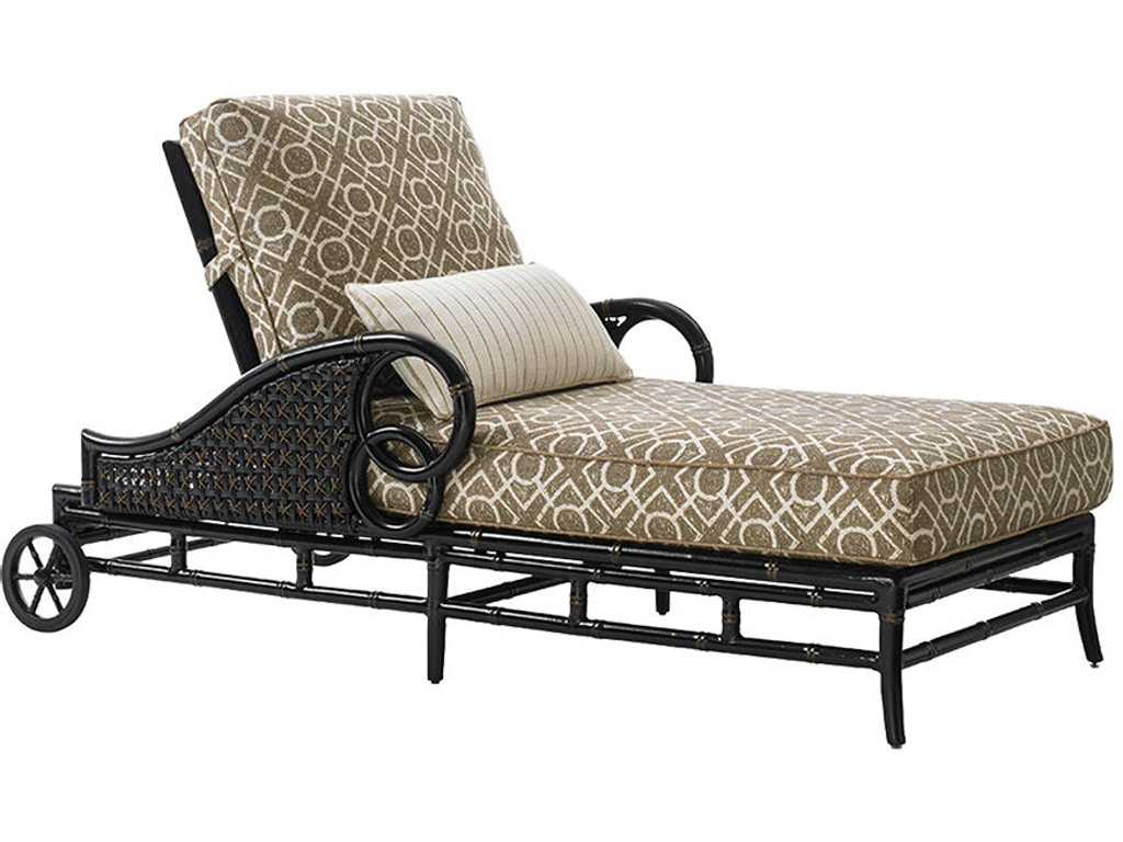Tommy bahama outdoor living 3237 75 chaise lounge for Chaise interiors