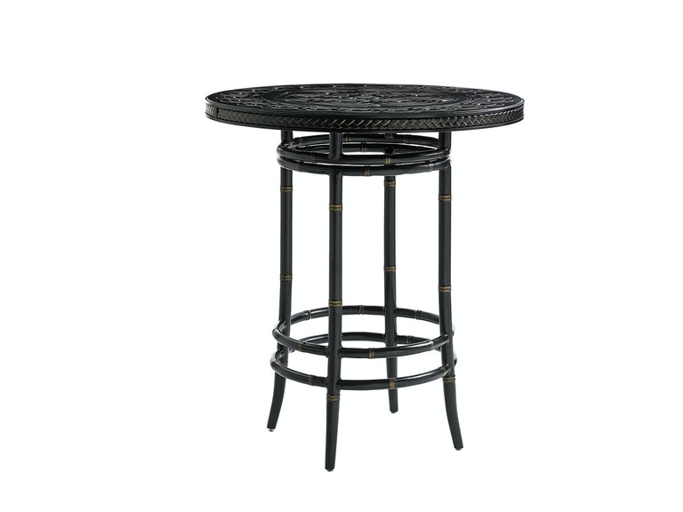 Tommy Bahama Outdoor Living High/Low Bistro Table Base 3237-873BB