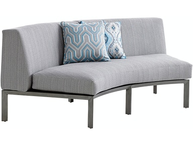 Tommy Bahama Outdoor Living Curved Sectional Love Seat