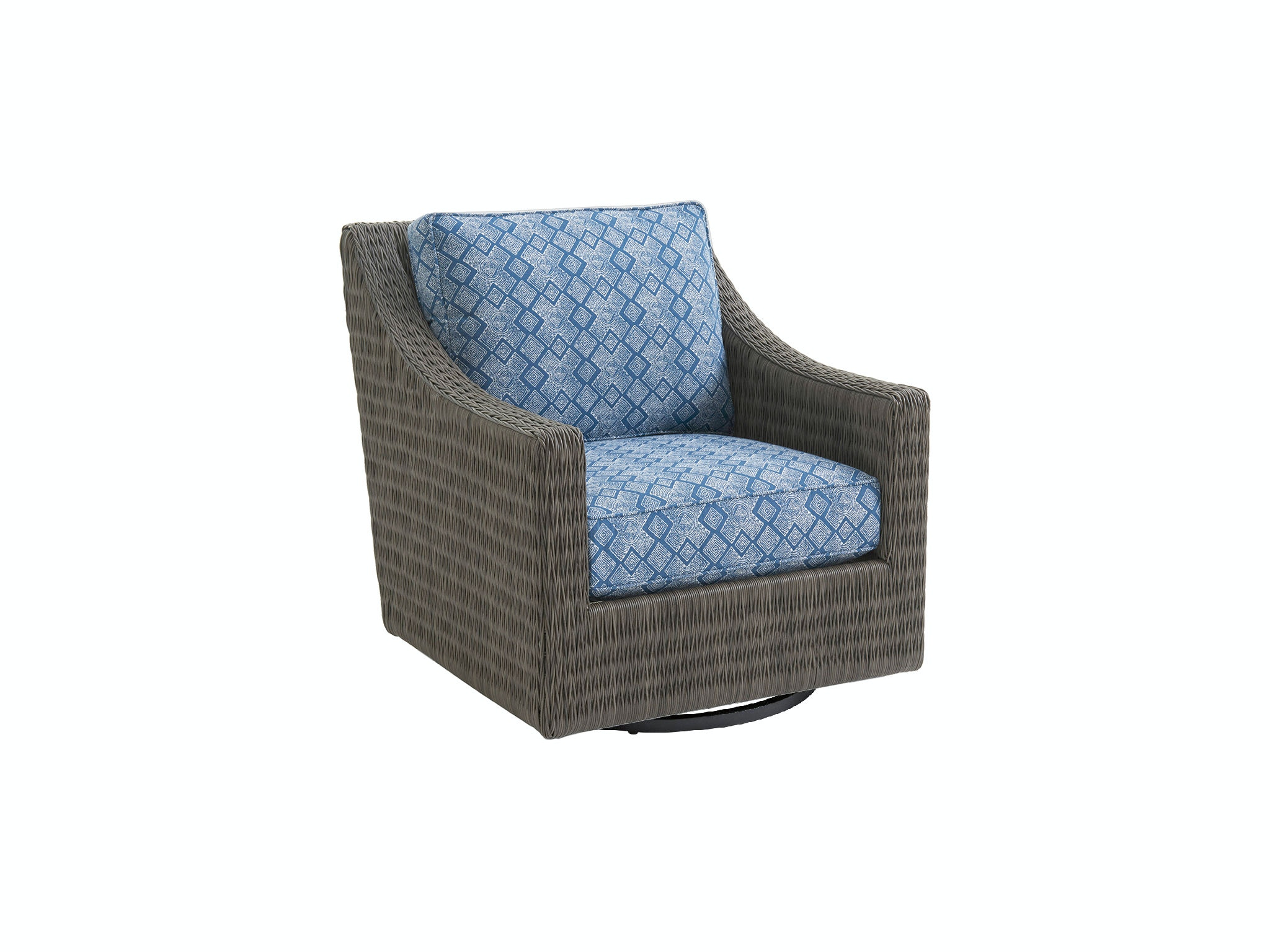 Tommy Bahama Outdoor Living Outdoor Patio Swivel Glider Lounge Chair