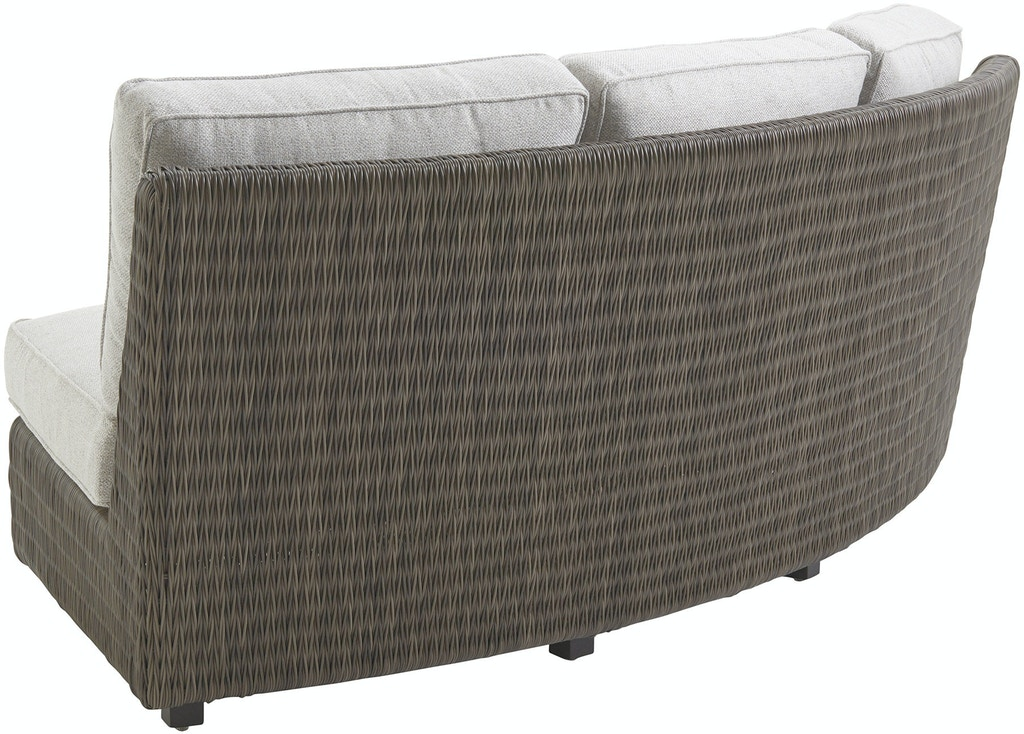 Tommy Bahama Outdoor Living Curved Sectional Armless