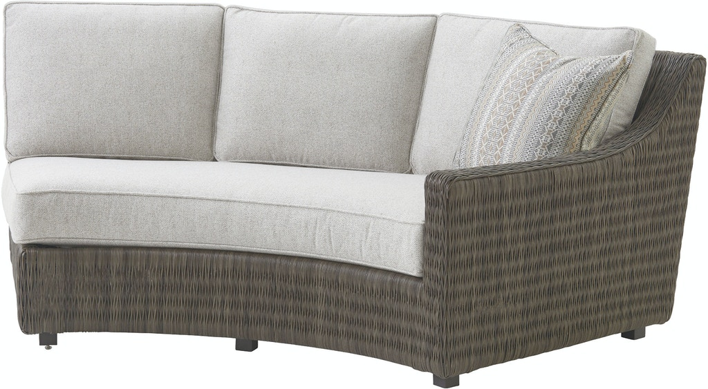 Tommy Bahama Outdoor Living Outdoor/Patio Curved Sectional ...
