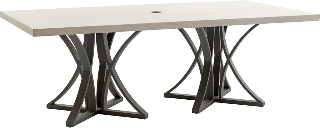 3900 876c Tommy Bahama Outdoor Dining Table W Weatherstone Top Cypress Point Ocean Terrace