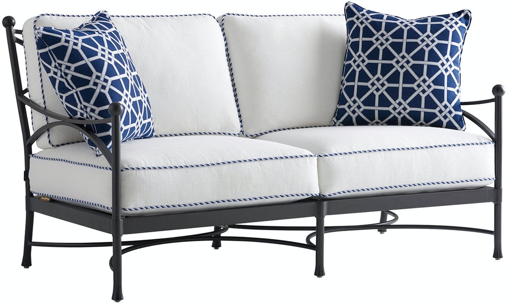 Super Tommy Bahama Outdoor Living 3910 22 Loveseat Frame Only Gamerscity Chair Design For Home Gamerscityorg