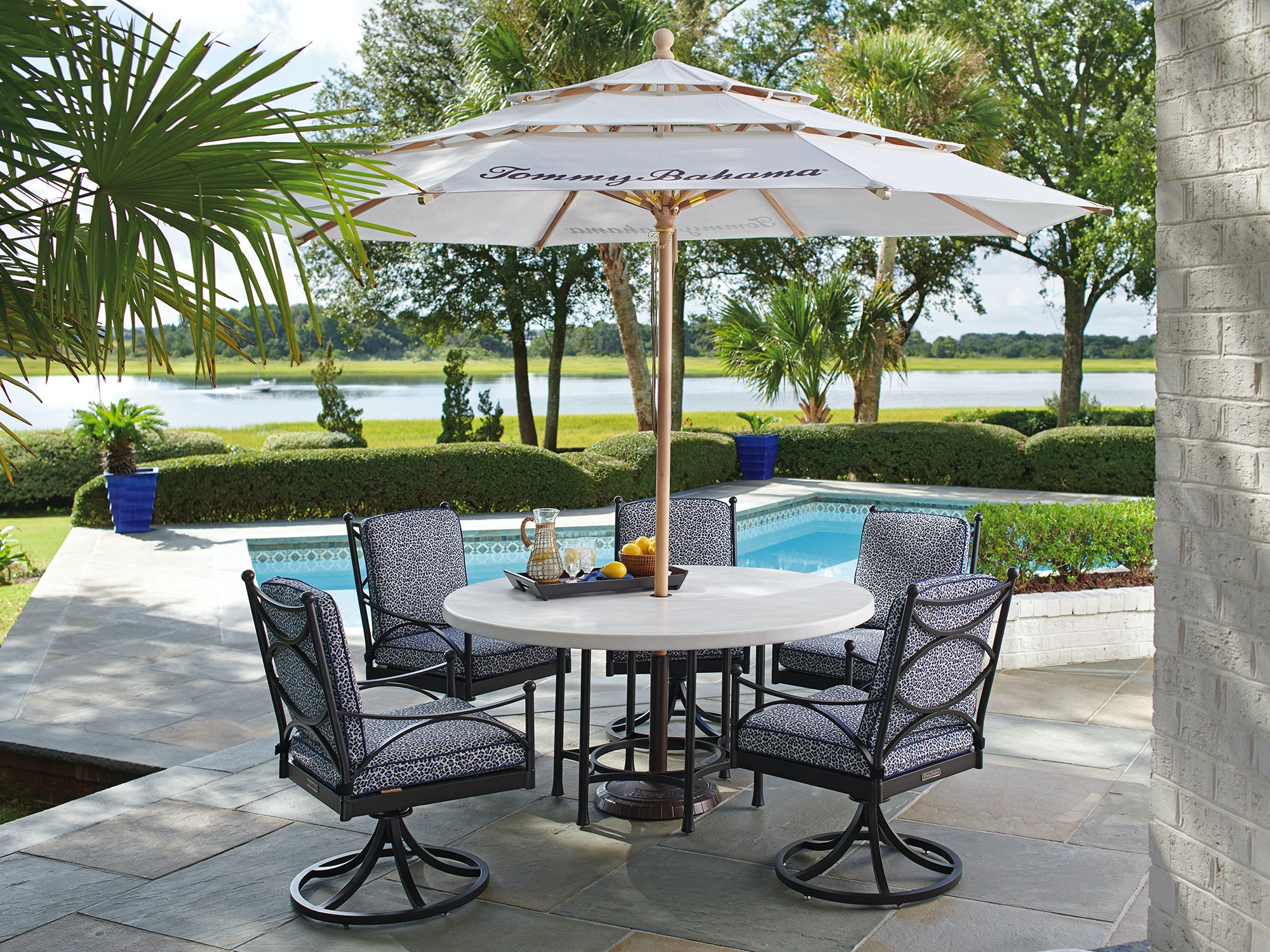 Tommy Bahama Outdoor Living Outdoor Patio Dining Table Base 3910