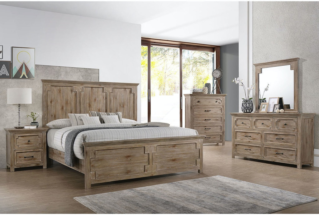 Lane Home Furnishings Bedroom Sante Fe Queen Bed with ...
